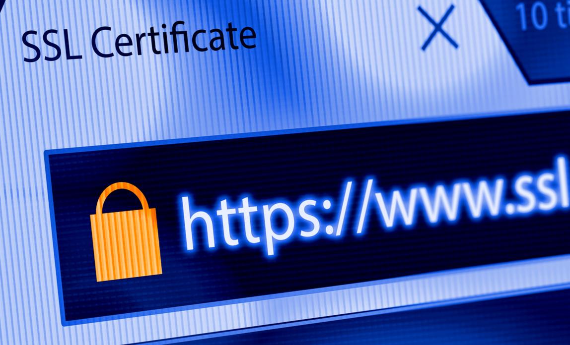 SSL encryption for your website
