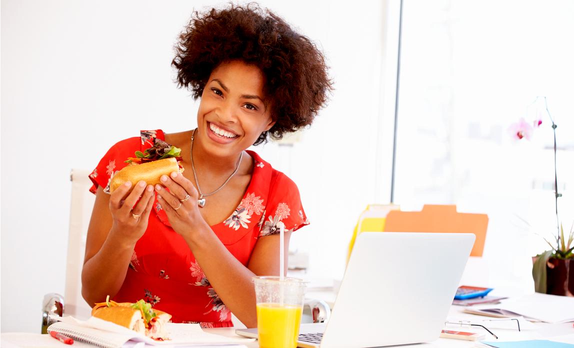 Millions don't take lunch breaks