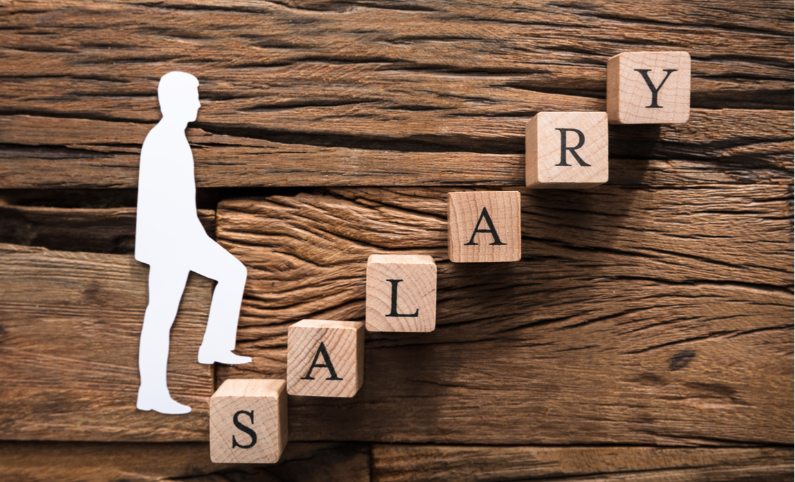 Salaries rise in February after January hiring spree