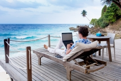 Business owners struggle to switch off from work while on holiday